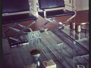 Projeto Itaim Bibi Salas de estar modernas por Debora de Rezende   arquitetura e interiores Moderno