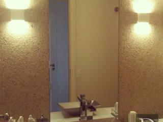 Projeto Itaim Bibi Banheiros modernos por Debora de Rezende   arquitetura e interiores Moderno