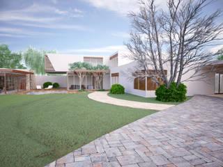 Jardins modernos por PORTO Arquitectura + Diseño de Interiores Moderno