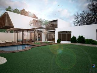 Casas modernas por PORTO Arquitectura + Diseño de Interiores Moderno