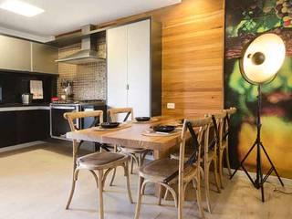 FLAT/GRAVATÁ/ÁREA:100 M2: Cozinhas  por arqMULTI
