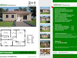 Müskon - Müstakil Konut Projeleri – Müstakil Konut (Fransızcası : Villa ): klasik tarz tarz Bahçe