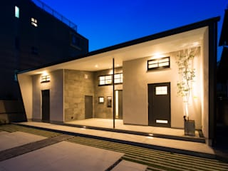 Modern houses by Sakurayama-Architect-Design Modern