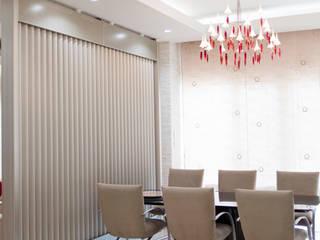 Residende Y モダンデザインの ダイニング の 一級建築士事務所ATELIER-LOCUS モダン