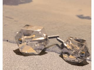 Möbelknöpfe aus Glas von Knaeufe.de Möbelknopfmanufaktur 'Exklusive Möbelknöpfe' Ausgefallen
