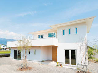 منازل تنفيذ 株式会社ルティロワ 一級建築士事務所, حداثي