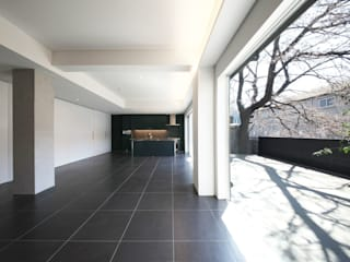HMR モダンデザインの ダイニング の 一級建築士事務所アトリエソルト株式会社 モダン