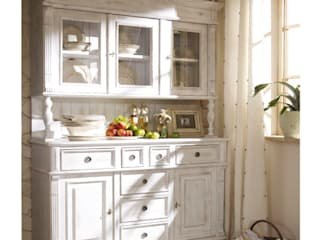 Massiv aus Holz Kitchen Solid Wood White