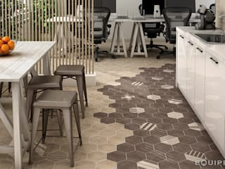 Phòng học/Văn phòng theo Equipe Ceramicas, Hiện đại