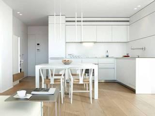 ruiz narvaiza associats sl Cocinas de estilo minimalista