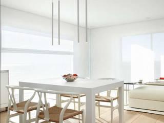 Minimalist dining room by ruiz narvaiza associats sl Minimalist