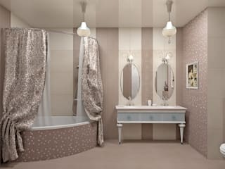 Classic style bathrooms by Alena Gorskaya Design Studio Classic