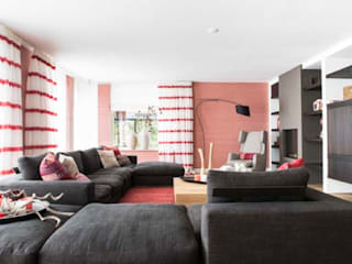 Interieurontwerp Villa: landelijke Woonkamer door Smeele | ontwerpt & realiseert