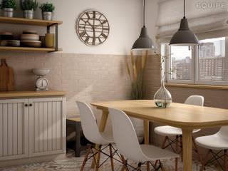 Dunas Moka Matt 6x24,6 Cocinas de estilo escandinavo de homify Escandinavo