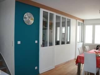 Maison D. (chantier en cours de finition) par Atelier FA - Achitecture d'intérieurs & d'extérieurs