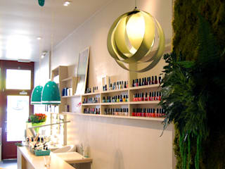 Le monde à mes pieds - Institut de beauté et de bien-être Locaux commerciaux & Magasin tropicaux par Justine Démas ⚡ studio de design Tropical