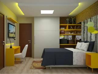 Cuartos de estilo ecléctico de Duecad - Arquitetura e Interiores Ecléctico