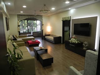 Apartment Modern living room by TWISHA THAKKER Modern