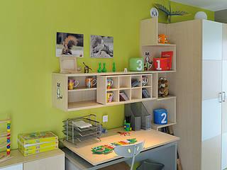 homify Dormitorios infantiles de estilo moderno Vidrio Transparente