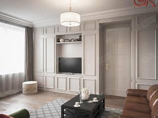 Дизайн дома в стиле прованс. Проект 2015 года Рабочий кабинет в классическом стиле от Дизайн студия Ольги Кондратовой Классический