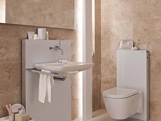 GEBERIT – Birkaç saatte yepyeni bir banyo: modern tarz , Modern