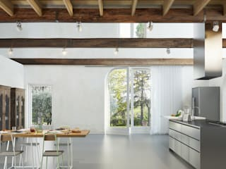 Moderne keukens van plasma Modern