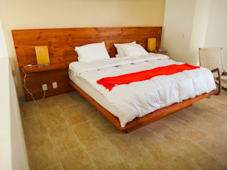 Natureflow® BedroomBeds & headboards Solid Wood Wood effect