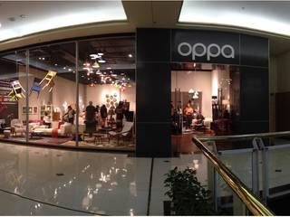 Oppa Pop Up Store - SP Market Place   SP Lojas & Imóveis comerciais modernos por KN Arquitetura Moderno