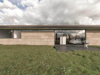 Maisons de style  par infografia 3D - arquitectura interior, Moderne