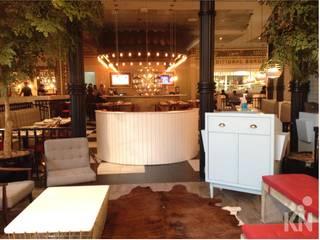 The Fifties Retrofit - Shopping Eldorado | SP: Espaços gastronômicos  por KN Arquitetura