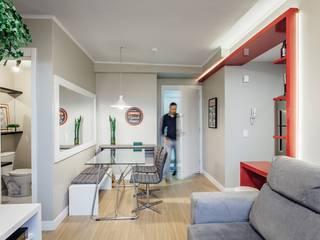 Столовые комнаты в . Автор – Ambientta Arquitetura, Модерн