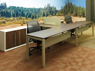 Riviera Office spaces & stores Wood-Plastic Composite Wood effect