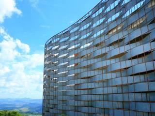 Residência Portal da Torre Casas rústicas por Hérmanes Abreu Arquitetura Ltda Rústico