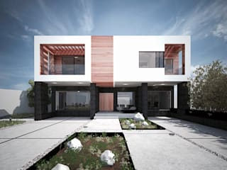 Modern houses by DOSA studio Modern
