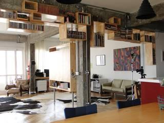 Modern Living Room by omnibus arquitetura Modern