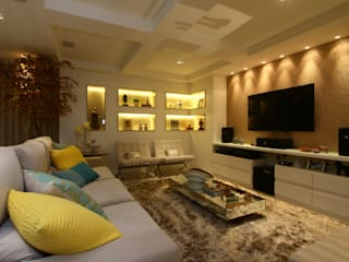 Modern living room by Oleari Arquitetura e Interiores Modern