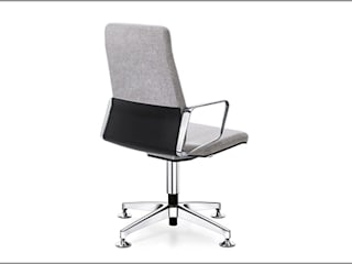 Riviera Study/officeChairs Synthetic Grey