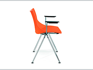 Riviera Study/officeChairs Wood-Plastic Composite Orange