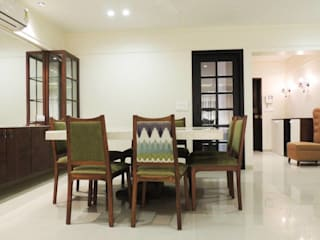 A project at Borivali Modern dining room by SwitchOver Studio Modern