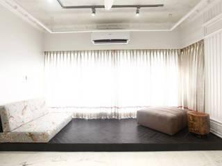 Salas de estilo moderno de SwitchOver Studio Moderno