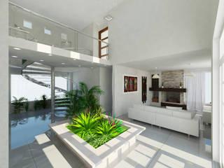 Modern Corridor, Hallway and Staircase by JRK Diseño - Studio Arquitectura Modern