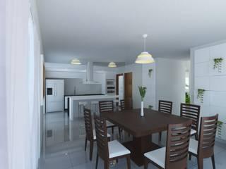 Modern dining room by JRK Diseño - Studio Arquitectura Modern