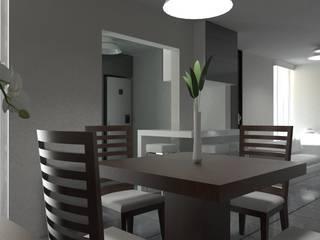 Dining room by JRK Diseño - Studio Arquitectura, Modern
