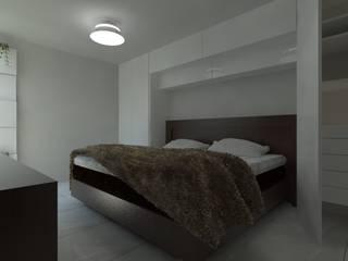 Remodelacion Casa Habitación en Morelia, Michoacán Dormitorios modernos de IDEA Studio Arquitectura Moderno