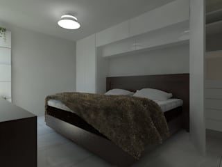 Nowoczesna sypialnia od IDEA Studio Arquitectura Nowoczesny