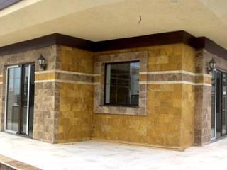 Dinding & Lantai Gaya Rustic Oleh Celebi Yapı Rustic