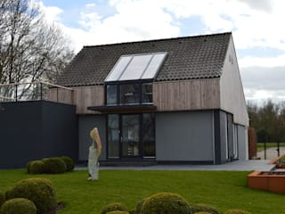 STROOM architecten Jardines de estilo moderno
