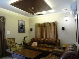 A cozy cottage feel Home. Modern living room by Freelance Designer Modern