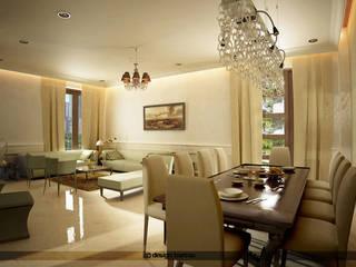 Jain residence Modern dining room by Design bureau Modern