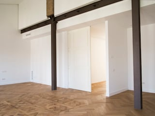 MAR House Salones de estilo mediterráneo de Singularq Architecture Lab Mediterráneo